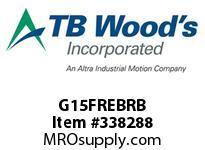TBWOODS G15FREBRB 1 1/2FX3/8 RB RIGID HUB