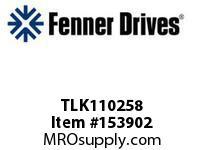 """FENNER TLK110258 TLK110 - 2-5/8"""""""