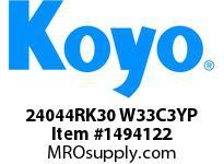 Koyo Bearing 24044RK30 W33C3YP BRASS CAGE-SPHERICAL BEARING
