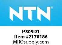 NTN P305D1 Cast Housing