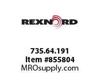 REXNORD 735.64.191 COMBI-A 6DEG 1LN 609.6MM CORNER TRACK COMBI-A 6 DEGREES 1 LA
