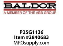BALDOR P25G1136 15HP 1765RPM 3PH 60HZ 254TC  TEFC FOOT