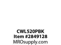 CPR-WDK CWL520PBK Plug 20A 125V 2P3W H/L BK