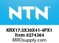 NTN KRX17.5X30X41-4PX1 MACHINED RINGNRB(CAM FOLLOWER)