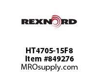 REXNORD HT4705-15F8 HT4705-15 F2 T8P HT4705 15 INCH WIDE MATTOP CHAIN WI