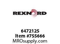 REXNORD 6472125 20-GC6212-01 IDL*20 P/A STL EQ R/G