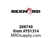 REXNORD 208740 594980 312.S71-8.CPLG STR SD