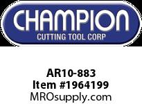 Champion AR10-883 CARB TIP STR TURN TOOL