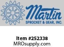 "Martin Sprocket 10CH2163-O 10"" X 1 1/2"" 216 HANGER-OIL"