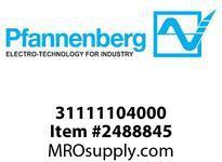 Pfannenberg 31111104000 BExBG 15-D 230V AC AM Explosive Area 1 Hz Flashing Xenon Strobe Beacon 15 Joules 230 VAC Ex-F
