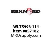 REXNORD WLT5998-114 WLT5998-114 WLT5998 114 INCH WIDE MATTOP CHAIN