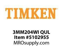 TIMKEN 3MM204WI QUL Ball P4S Super Precision