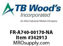 TBWOODS FR-A740-00170-NA CT 10HP (ND) 7.5HP (HD) 480V