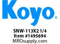 Koyo Bearing SNW-113X2 1/4 SPHERICAL BEARING ACCESSORIES