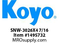 Koyo Bearing SNW-3026X4 7/16 SPHERICAL BEARING ACCESSORIES