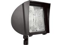 RAB FXH50QT/PCS FLEXFLOOD 50W MH QT HPF W/ARM + LAMP + 120V PCS BNZ