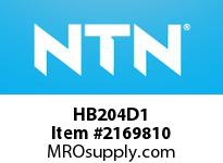 NTN HB204D1 Cast Housing
