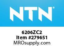 NTN 6206ZC2 SMALL SIZE BALL BRG(STANDARD)