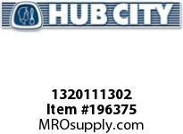 HUBCITY 1320111302 B220RX2-3/16 DURALINE BEARING INSERT