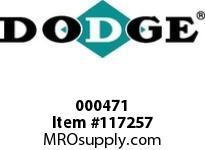 DODGE 000471 19CKCP X 3-3/8^ FLUID CPLG-3535