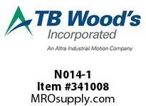 TBWOODS N014-1 NLS CLUTCH 14A-1
