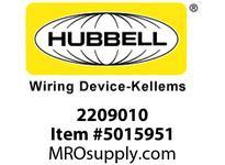 HBL_WDK2209010 HD DBL EYE SUP GRIP 5.0-6.0^ BRZ LACE