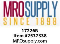 MRO 17226N 1/4 X 3/8 COMPXMIP WHT NYLN ELB
