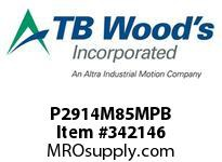 TBWOODS P2914M85MPB P29-14M-85X1 1/4 SYNCH SPROCK