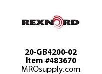 REXNORD 20-GB4200-02 OBS REPLBY HB-01 OR GB-21 6483934