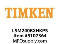 TIMKEN LSM240BXHKPS Split CRB Housed Unit Assembly
