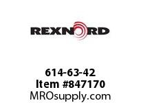 REXNORD 614-63-42 NS7700-21T 30MM IDL NS7700-21T SPLIT SPROCKET WITH 30MM