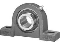 IPTCI UCPX13-40-L3 Pillow Block Set Screw Lock Medium Duty Bore Dia. 2 1/2^^ Wide Inner Race Insert Triple Lip Seal