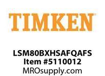 TIMKEN LSM80BXHSAFQAFS Split CRB Housed Unit Assembly