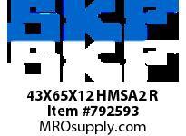 SFKSEAL 43X65X12 HMSA2 R