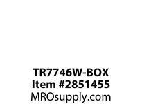 CPR-WDK TR7746W-BOX COMBO 2 PORT USB DUPLEX RECP 20A 125V WH