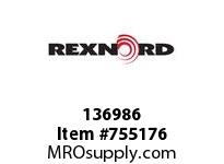 REXNORD 136986 7301010443011 10 HCB 1.3750 BORE NSKWY