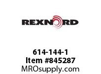 REXNORD 614-144-1 WT1500-24T 60MM SQ SPLIT