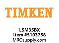 TIMKEN LSM35BX Split CRB Housed Unit Component