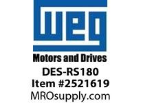 WEG DES-RS180 Motor 182T and 184T Integrals