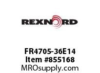 REXNORD FR4705-36E14 FR4705-36 E14-5/32D CHAIN PITCH: 1.5 IN; CAPACITY TYPE: