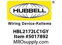 HBL_WDK HBL2172LC1GY LOAD CTRL HGR SPLT CIRC 15A 5-15R GY