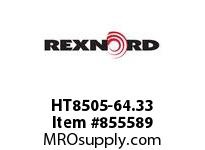 REXNORD HT8505-64.33 HT8505-64.33 HT8505 64.3333 INCH WIDE MATTOP CHA