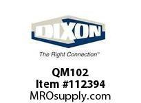 DIXON QM102 DIXLOCK CPLG FEM X 1/2 FEM