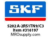 SKF-Bearing 5202 A-2RS1TN9/C3