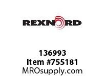 REXNORD 136993 7301010603011 10 HCB 1.8750 BORE NSKWY