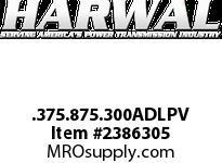 Harwal .375.875.300ADLPV .375 x .875 x .300ADL-P FPM