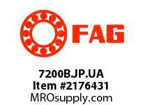 FAG 7200B.JP.UA SINGLE ROW ANGULAR CONTACT BALL BEA