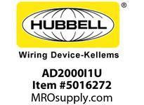 HBL_WDK AD2000I1U WALL SWVAC/OCCDT1R120/277VIV USA