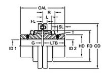 1040 CVR/GRID ASSY VERT MM