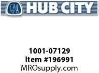 HUBCITY 1001-07129 PB350URX1-7/16 DURALINE PILLOW BLOCK BEARING